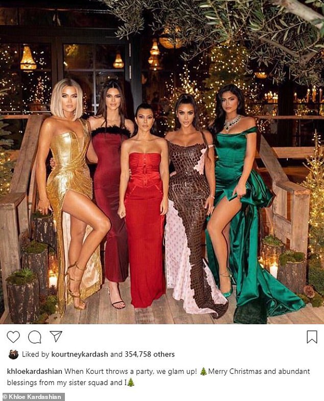 Christmas Eve 2019: She hosted the annual Kardashian/Jenner Christmas Eve extravaganza last year at her $8.5 million Calabasas abode