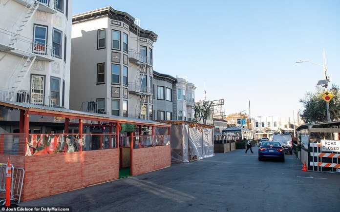 SAN FRANCISCO: Restaurants have aimed to put a personal touch on their outdoor spaces