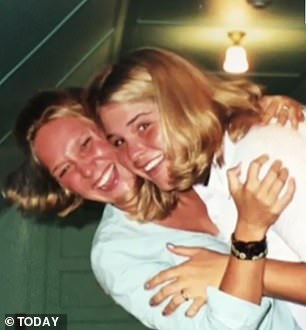 Throwbacks: Jenna has been friends with Ferrell (pictured) and Mia for decades
