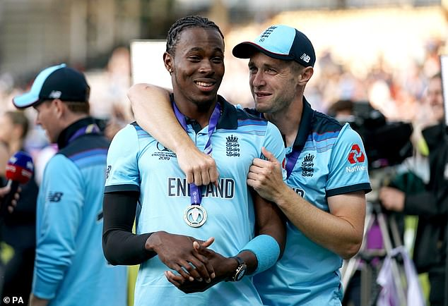 Jofra Archer (left) was a late selection for England ahead of last year's World Cup