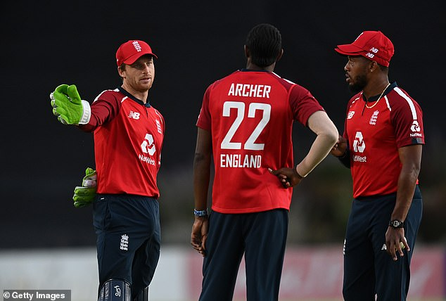 Jos Buttler's (left) outstanding form has posed a conundrum ahead of next year's World Cup