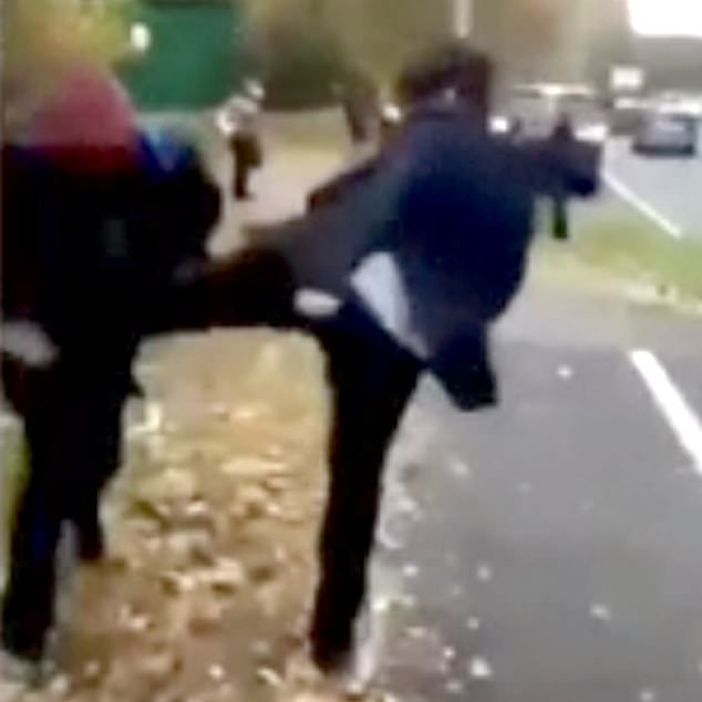 West Mercia Police is treating the attack as a hate crime and their inquiries are continuing