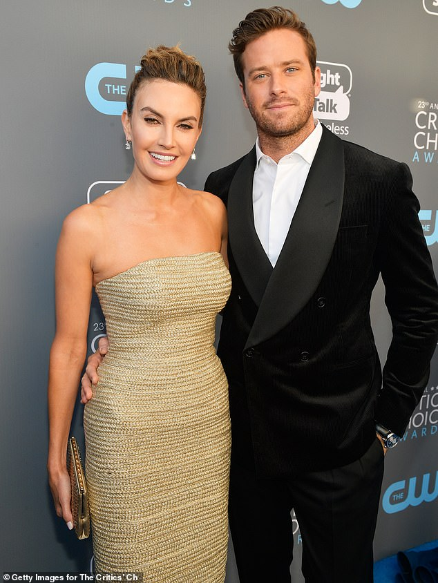 Back in the days: The former couple was seen together at the Critics' Choice Awards in January 2018