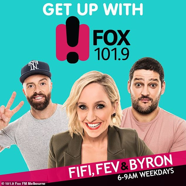 Career: Byron joined the radio station in 2015. He has co-hosted Fox FM's Melbourne breakfast show with Brendan Fevola and Fifi Box since 2017