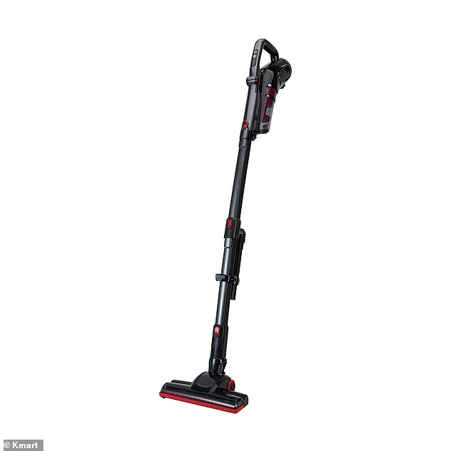 A mum has been left 'slightly terrified' by her seemingly possessed stick vacuum which has started to turn itself off and on