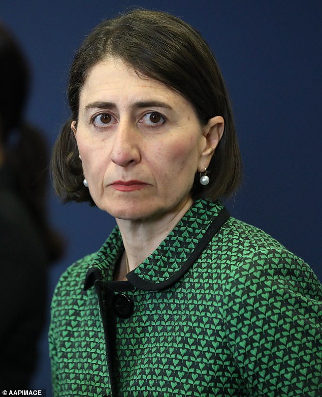 Gladys Berejiklian is shocked to hear Cardi B and Megan Thee Stallion's controversial hit WAP