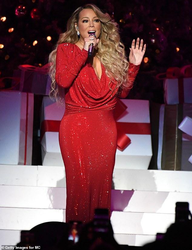 Pasión navideña: Mariah Carey, mostrada en diciembre de 2019 en la ciudad de Nueva York, admitió que ama la Navidad en una entrevista reciente.