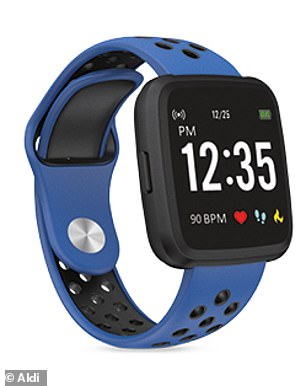 Aldi Australia is selling smart watches that track steps and monitor blood pressure for just $34.99