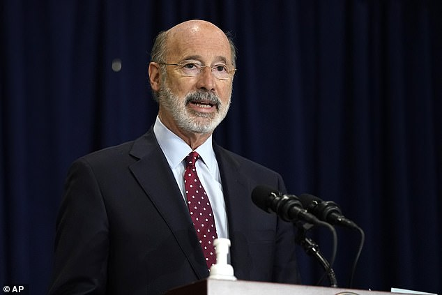 Governor Tom Wolf said the Pennsylvania Department of State had certified Democrat Joe Biden as the state's winner of the presidential election