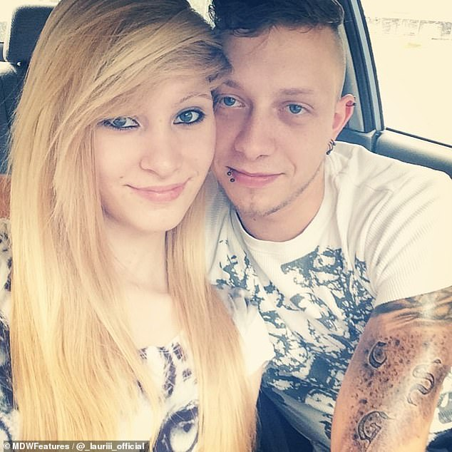 Larissa and Patrick years ago when they were in a conventional relationship. They are now busy making plans with Laura for the future