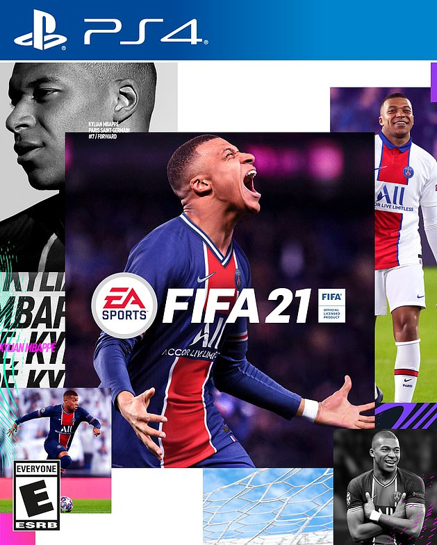 Kylian Mbappe is the cover star of the new FIFA game, the 28th of the long-running series