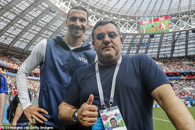 Mino Raiola claims 300 players are ready to join Zlatan Ibrahimovic in his fight with EA Sports