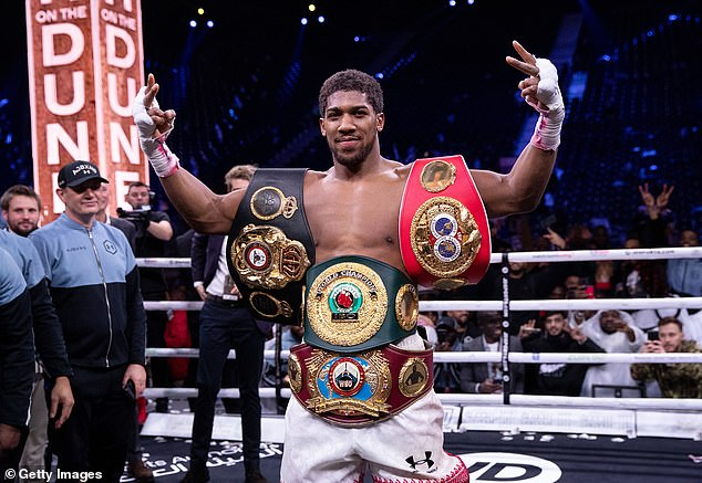 Anthony Joshua will defend his heavyweight world titles against Kubrat Pulev next month