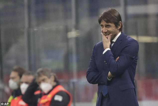 Antonio Conte is losing his grip at Inter after a disastrous showing in the Champions League