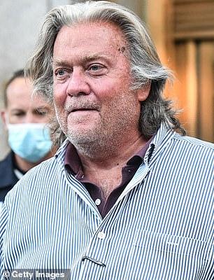 Former White House Counselor Steve Bannon