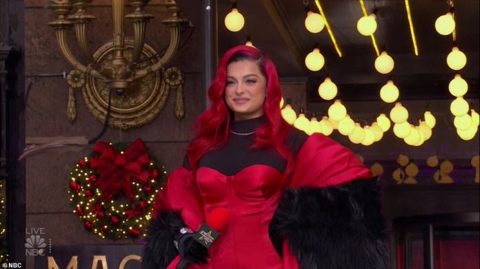 Bebe Rexha was among the other performers during the televised event