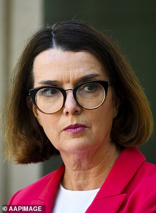Minister for Families and Social Services Anne Ruston (pictured) said 'we are standing side by side with Australians who have been hardest hit by the economic impact of the pandemic'