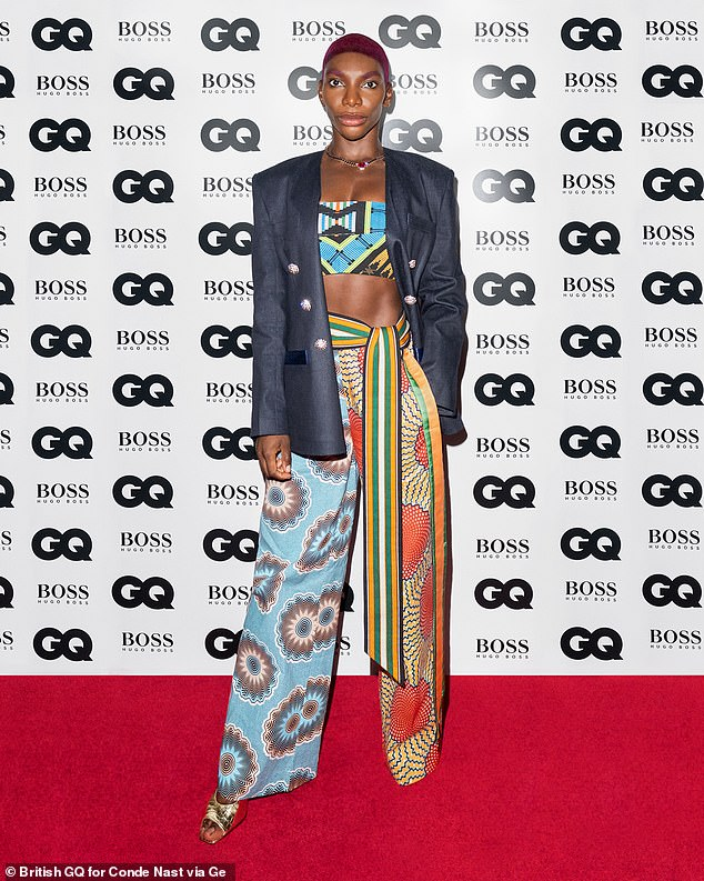 Creative Icon:Michaela Coel, 33, who created and starred in the critically acclaimed series I May Destroy You, was presented with the award for Creative Icon of the year