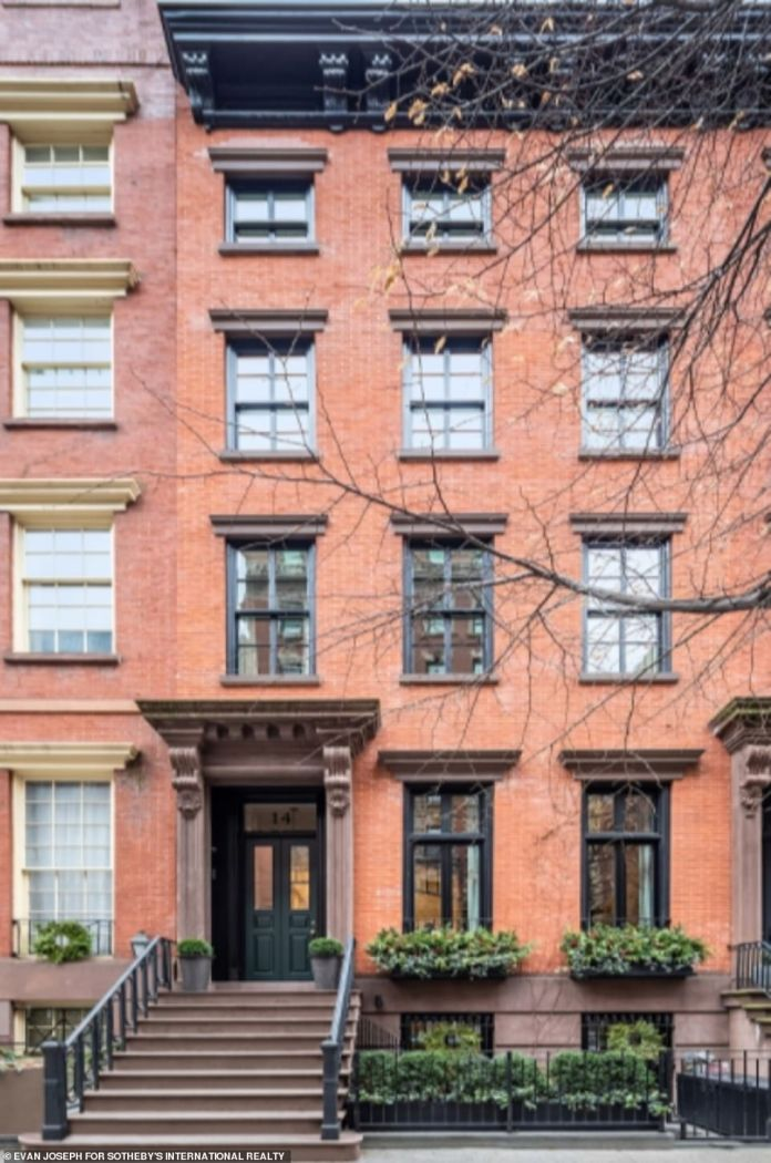 A mystery buyer has snapped up this historic New York City townhouse for $28 million in cash - despite not having visited the property prior to purchase