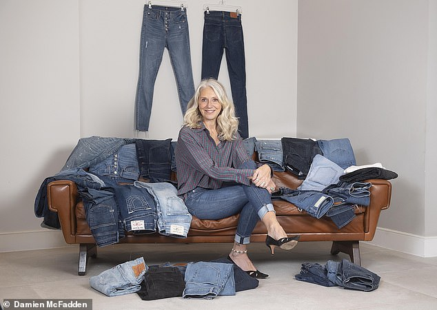 Bex Salmon, from London, fell in love with jeans aged 14 when her mother gave her a pair of her old jeans from the Sixties. Her obsession was cemented on a trip to San Francisco aged 19 when she filled her suitcase with vintage 501