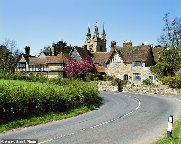 Rural places such as the village of Penshurst in Kent (pictured) – which has had only three cases in the past week – have been plunged into Tier Three because they fall under a local authority with high infection rates
