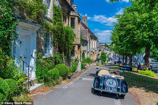 The medieval town of Burford (pictured), Oxfordshire has a population of just over 1,000. It is now in Tier Two even though West Oxfordshire had just 87 recorded cases in the week up to November 21
