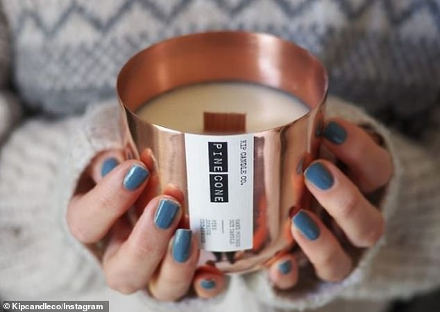 It's a match! Kyle set up the business with his girlfriend, actress Anna Passey. According to the product description on Instagram, the candles produce scents which 'bring the outdoors in'