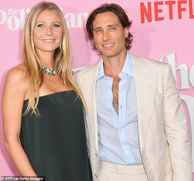 Her hunk:Gwyneth is now hunkering down with her current husband Brad Falchuk who is known for co-creating shows like Glee and American Horror Story with Ryan Murphy