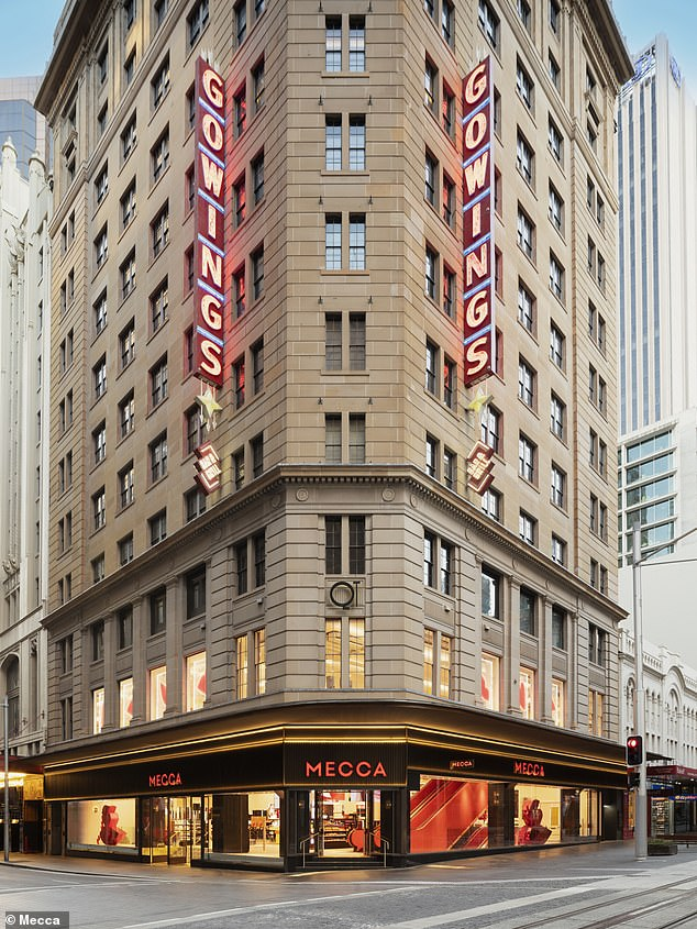 The old Gowing's building has been transformed into the Southern Hemisphere's biggest beauty store