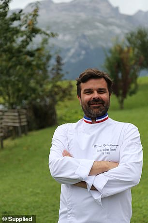 François Robin (pictured)has revealed his ultimate guide to mastering all things cheese