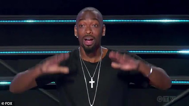 Guest judge:The guest panelist is revealed to be comedian Jay Pharoah, who says he¿s ¿happy to be back¿ with his ¿sexy Voltron mask'