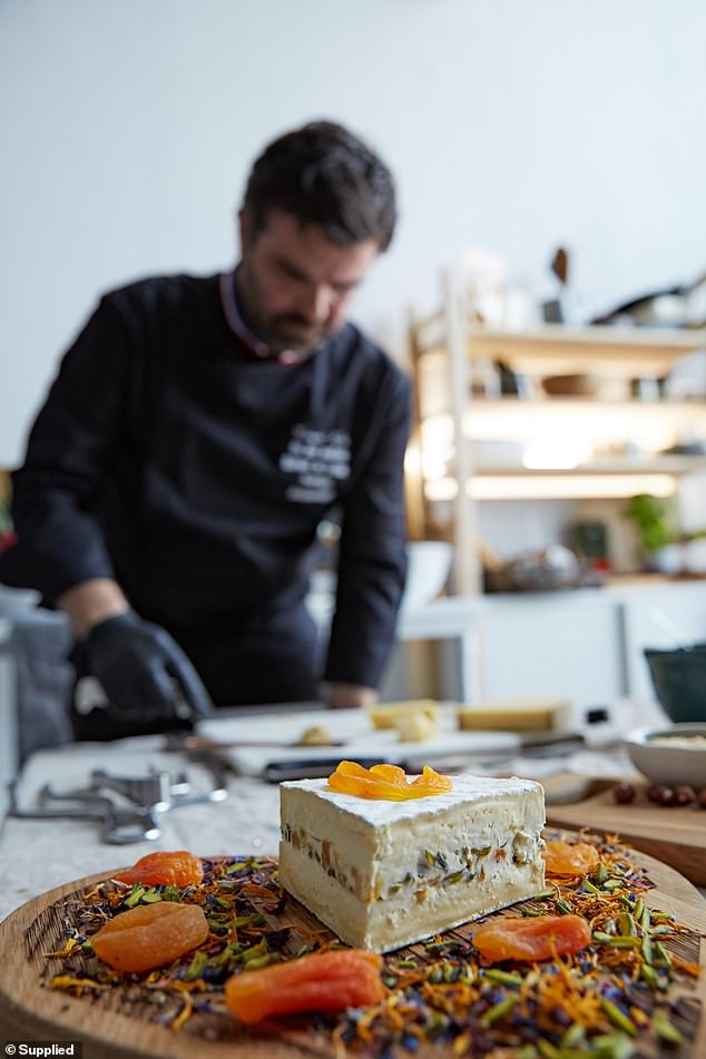 Besides cheeses, François said the board should always be served with an array of condiments, fruits, nuts, cured meats, bread and gourmet crackers