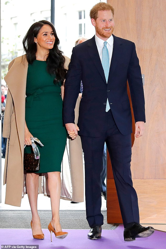 It is unlikely Prince Harry, 36, and Meghan Markle, 39, will join the Queen's Christmas bubble, with the couple currently living in California