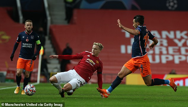 The midfielder has struggled for playing time at United this term but did impress on Tuesday night in the club's 4-1 Champions League victory over Istanbul Basaksehir
