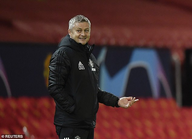 Manager Ole Gunnar Solskjaer has failed to find a spot for the Dutchman in his starting XI