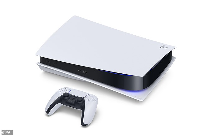 Demand for the much-anticipated console, pictured, has far outstripped supply across the UK, with all major retailers presently reporting dwindling or depleted stocks