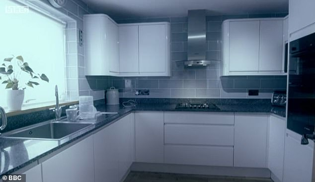 Kitchen before: Perfectly functional, but this kitchen was also given an amazing upgrade