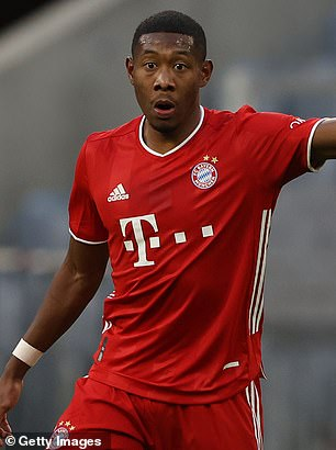 David Alaba came through the youth system at Bayern but currently looks set to leave the club in 2021