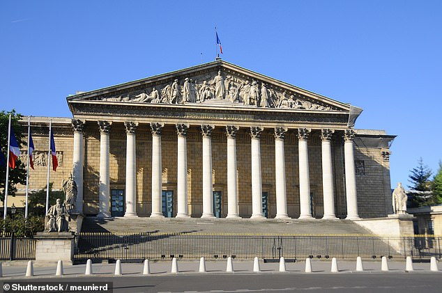 France has made it a crime to discriminate against people based on their accent, calling the practice 'a form of racism'.Accents have been added to the list of causes of actionable discrimination in a law overwhelmingly adopted by 98 votes to three in the country's lower parliament which sits in the Palais Bourbon (pictured)