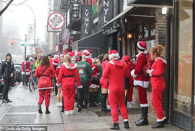 The bar crawl was deemed too risky this year amid the pandemic