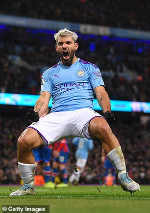 Aguero has been out with a hamstring injury suffered at West Ham