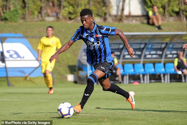 Amad Diallo, 18, will however join in 2021 as long as United manage to secure a work permit