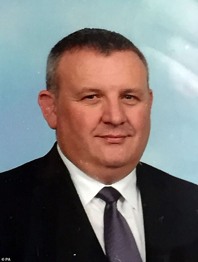 Prison officer Adrian Ismay, who was murdered byChristopher Robinson, 50, in 2016