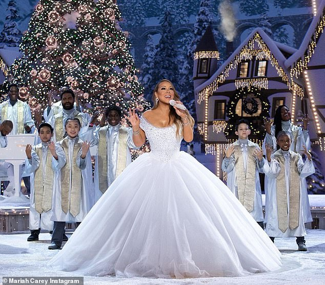 Coming Up: The trailer for Mariah Carey's upcoming Christmas special, set to debut on December 4, released on Friday