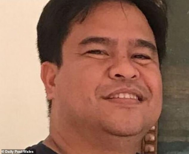 Llobrera, father to his 8-year-old daughter, was described as a'dedicated and compassionate' health worker, who had just finished a 13-hour shift atWrexham Maelor Hospital when he was killed outside by the speeding vehicle