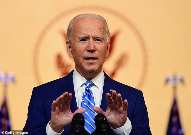Biden will be the country's second Catholic president, and the first in more than half a century.