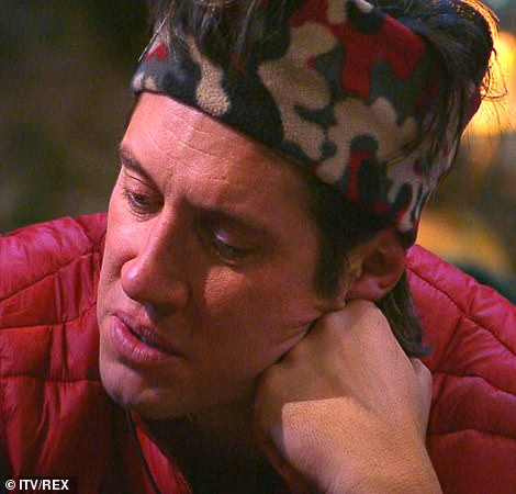 Emotional: Vernon Kay said the stars were 'the perfect jigsaw of personalities'