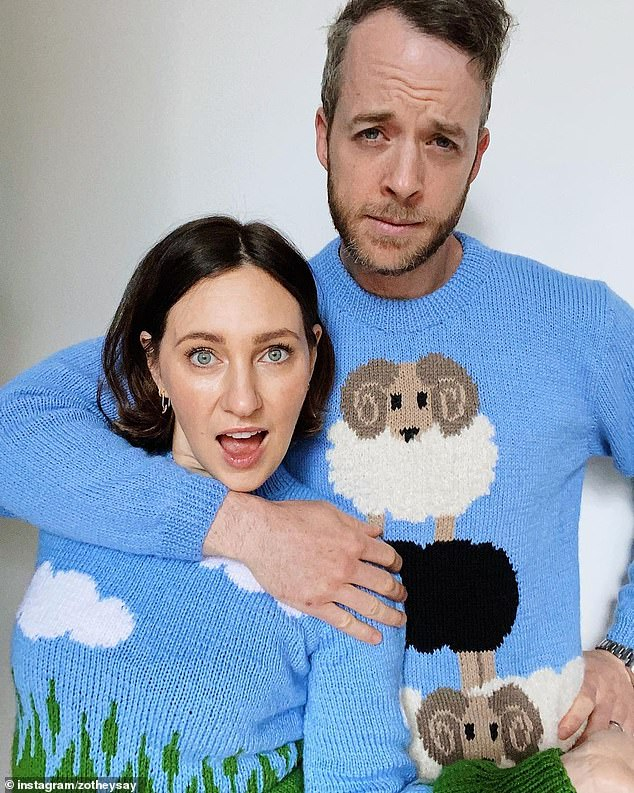 Love: Zoë married comedian husband Hamish Blake in a private ceremony in Wolgan Valley, New South Wales, in 2012. The couple welcomed their first child, son Sonny Donald, in 2014, followed by a daughter , Rudy Hazel, in 2017