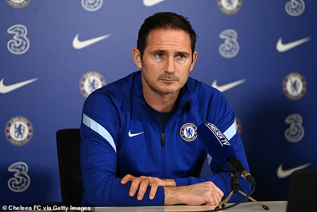 But Frank Lampard insisted Spurs' transfer spending is similar to Chelsea's over two seasons