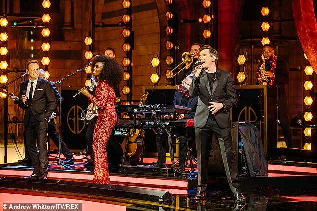 Celebration of music: Gary said: 'I am so excited to host this music special'